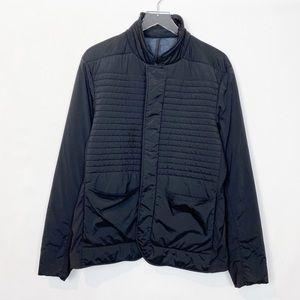 Lululemon Black Quilted Down Jacket Large
